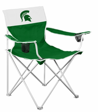 Michigan State Big Boy Adult Folding Logo Chair