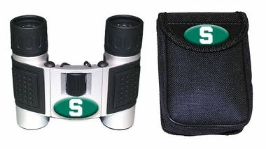 Michigan State Binoculars and Case