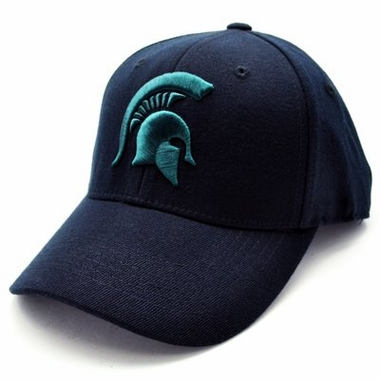 Michigan State Black Premium FlexFit Baseball Hat
