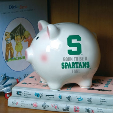 Michigan State (Born to Be) Piggy Bank