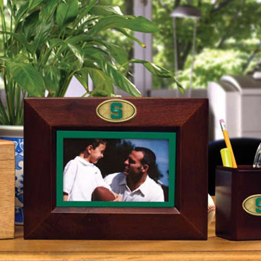Michigan State BROWN Landscape Picture Frame