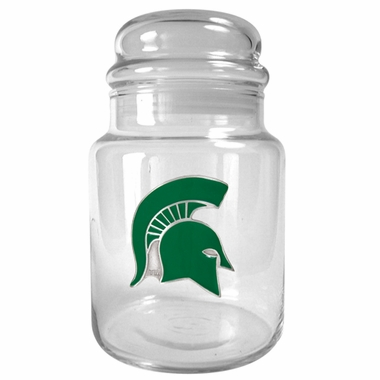 Michigan State Candy Jar