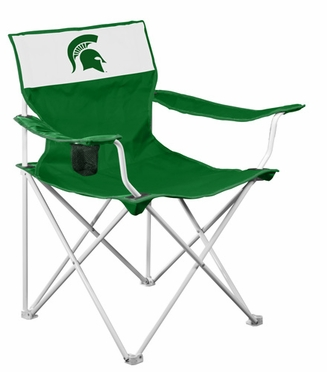 Michigan State Canvas Adult Folding Logo Chair