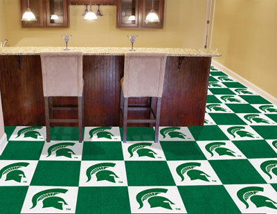 Michigan State Carpet Tiles