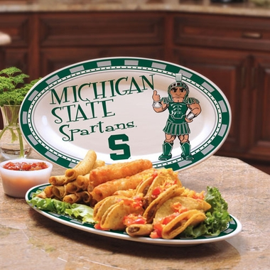Michigan State Ceramic Platter