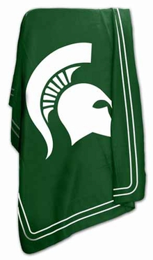 Michigan State Classic Fleece Throw Blanket