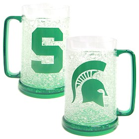 Michigan State Crystal Freezer Mug
