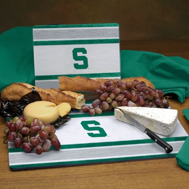 Michigan State Cutting Board Set