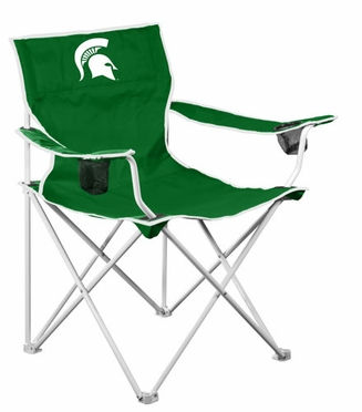 Michigan State Deluxe Adult Folding Logo Chair