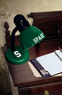 Michigan State Dorm Lamp
