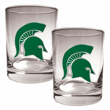 Michigan State Double Rocks Set