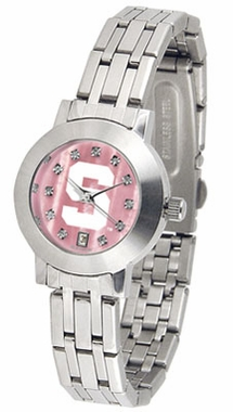Michigan State Dynasty Women's Mother of Pearl Watch