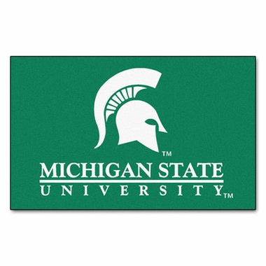 Michigan State Economy 5 Foot x 8 Foot Mat