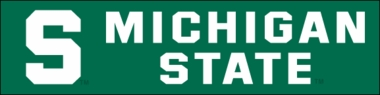 Michigan State Eight Foot Banner