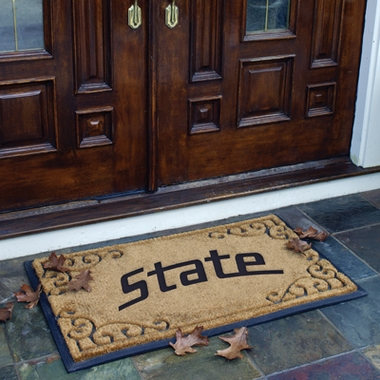 Michigan State Exterior Door Mat