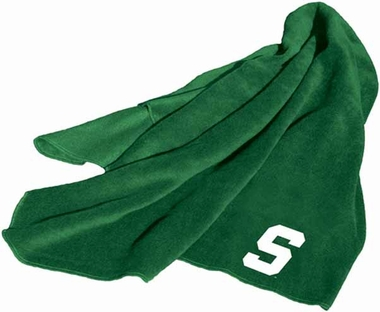 Michigan State Fleece Throw Blanket