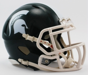 Michigan State Football Helmet - Mini Replica