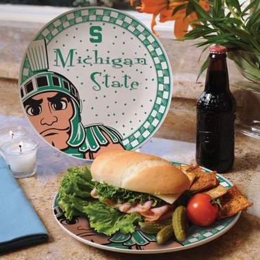 Michigan State Gameday Ceramic Plate