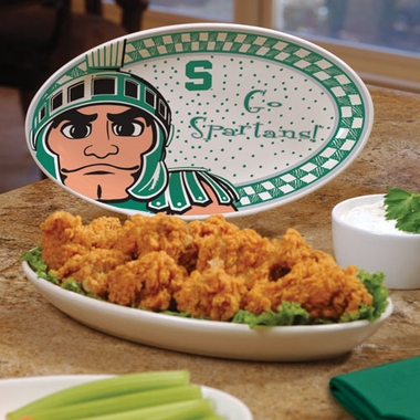 Michigan State Gameday Ceramic Platter
