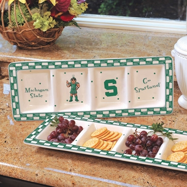 Michigan State Gameday Relish Tray