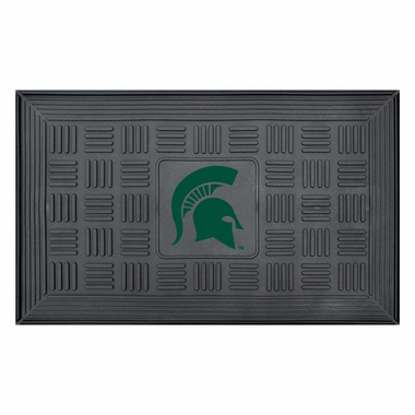Michigan State Heavy Duty Vinyl Doormat