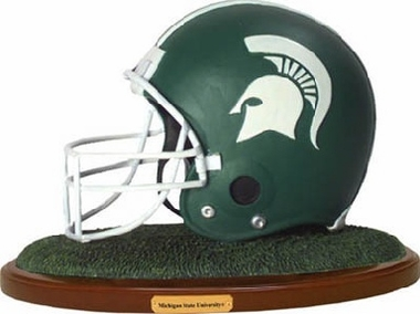 Michigan State Helmet Figurine