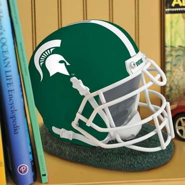 Michigan State Helmet Shaped Bank