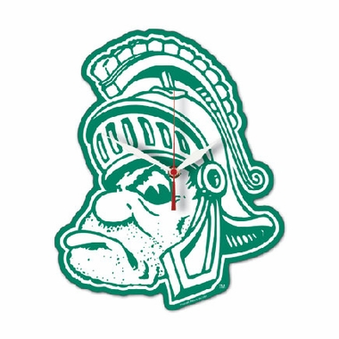 Michigan State High Definition Wall Clock (Logo)