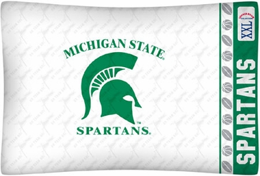 Michigan State Individual Pillowcase