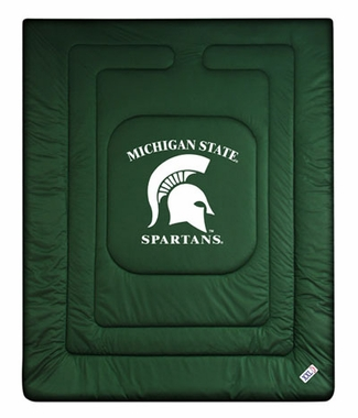 Michigan State Jersey Material Comforter