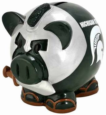 Michigan State Large Thematic Piggy Bank