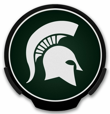 Michigan State Light Up Power Decal