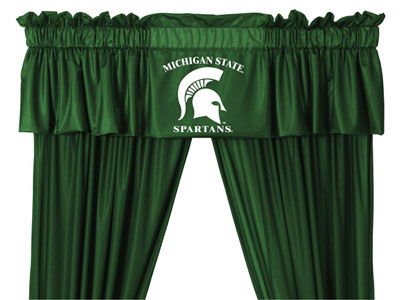 Michigan State Logo Jersey Material Valence
