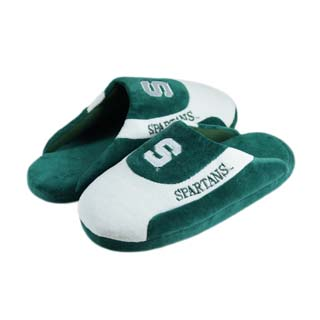 Michigan State Low Pro Scuff Slippers - Large