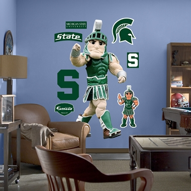 Michigan State Mascot Fathead Wall Graphic