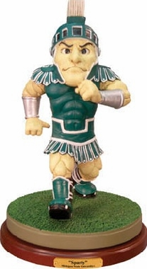 Michigan State Mascot Statue