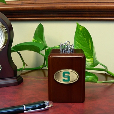 Michigan State Paper Clip Holder