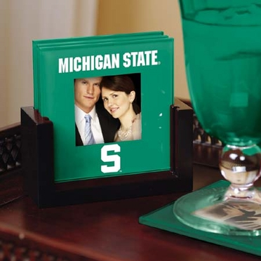 Michigan State Photo Coaster Set