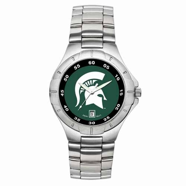 Michigan State Pro II Men's Stainless Steel Watch