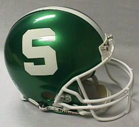 Michigan State Riddell Full Size Authentic Helmet