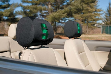 Michigan State Set of 2 Headrest Covers (F)