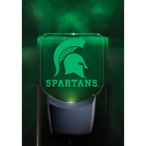 Michigan State Set of 2 Nightlights