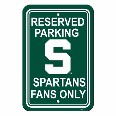 Michigan State Plastic Parking Sign (P)