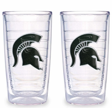 Michigan State Set of TWO 16 oz. Tervis Tumblers