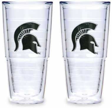 Michigan State Set of TWO 24 oz. Tervis Tumblers