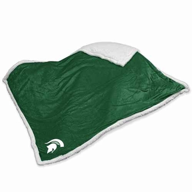 Michigan State Sherpa Blanket