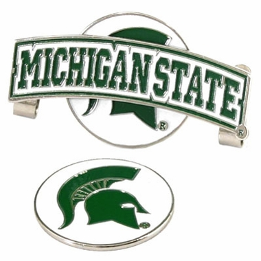 Michigan State Slider Clip With Ball Marker