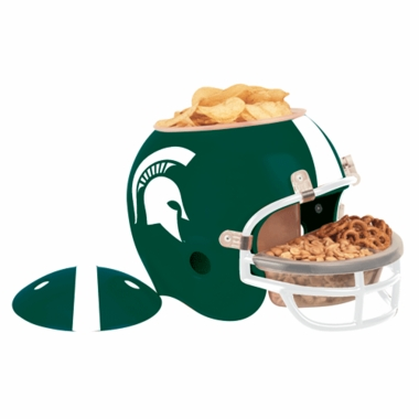 Michigan State Snack Helmet