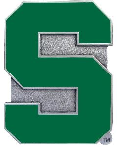 Michigan State Spartans S Hitch Cover Class 3