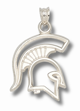 Michigan State Sterling Silver Pendant